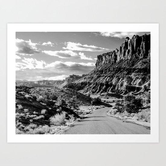 Capitol Reef National Park, Utah Art Print