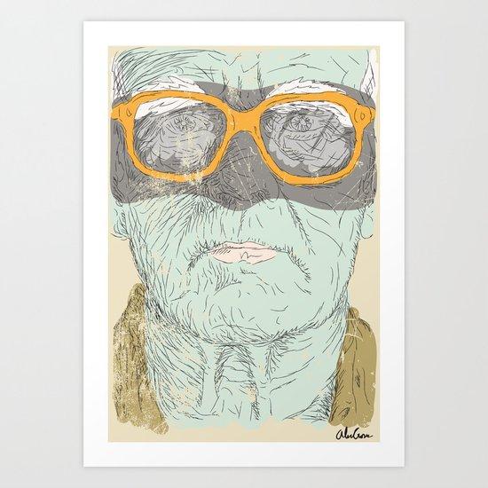 Geezer Bandit Art Print