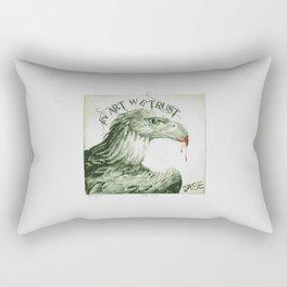Rise In Art We Trust Rectangular Pillow