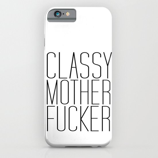 classy motherfucker iPhone & iPod Case