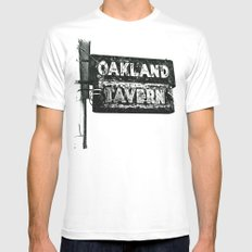 Old tavern sign Mens Fitted Tee MEDIUM White