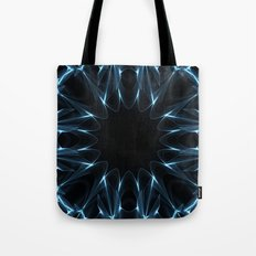 Kaleidoscope in Blue Tote Bag