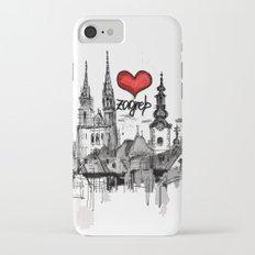 I love Zagreb Slim Case iPhone 7
