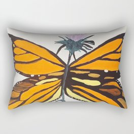 Toughest Butterfly Rectangular Pillow