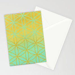 Meditation space Stationery Cards