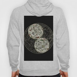 Astronomy constellations vintage art map, cosmos, galaxy universe astrology Hoody