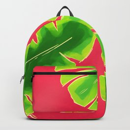 Tropical Color - Pink Backpack