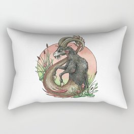 Star Sign - Capricorn Rectangular Pillow