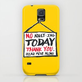 No Thank You iPhone Case