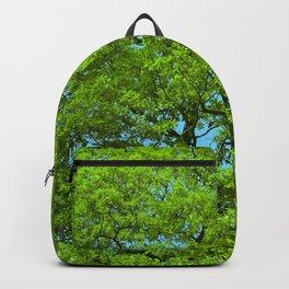 Green Oak Tree Foliage Backpack