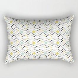 Modern Angles Style A Rectangular Pillow