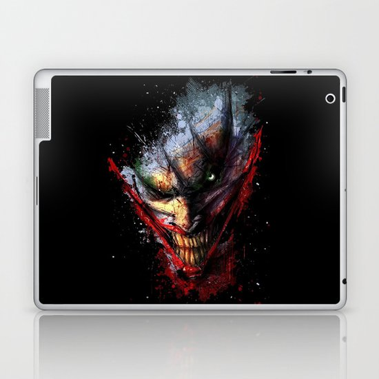 Joker Face  Laptop & iPad Skin