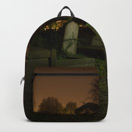 Cemetery at Night Backpack
