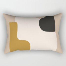 abstract minimal 16 Rectangular Pillow