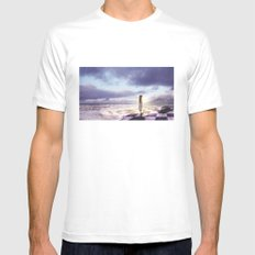 The Lost Story Mens Fitted Tee White MEDIUM
