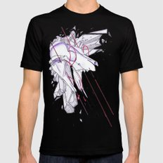 What Comes and Goes As Mens Fitted Tee MEDIUM Black