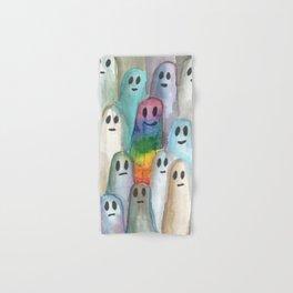 the rainbow gay ghost Hand & Bath Towel