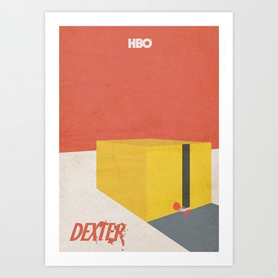 Dexter - Minimal Movie Poster Art Print
