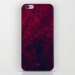 Bold Burst in Red iPhone Skin