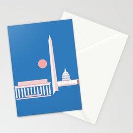 Washington D.C. City Print Stationery Cards