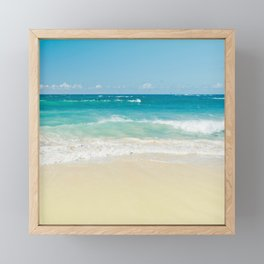 Beach Love Framed Mini Art Print