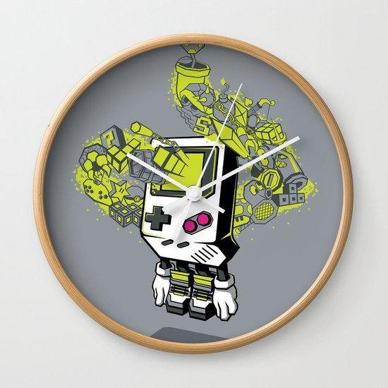 Pixel Dreams Wall Clock