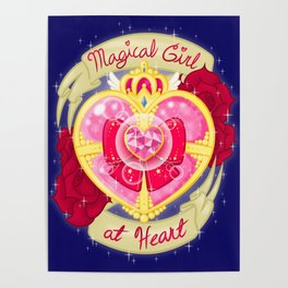 Magical Girl At Heart Poster