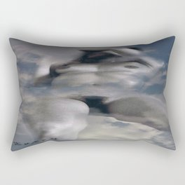 Nude in sky Rectangular Pillow