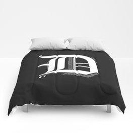 Letter D Comforters