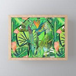Bird of Paradise Framed Mini Art Print
