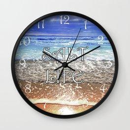 Salt Life Wall Clock