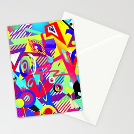 Bomb of Color Stationery Cards