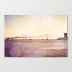 Greater New Orleans Bridge over the Mississippi Canvas Print