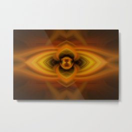 Fire Eye Metal Print