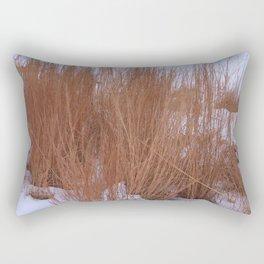 Winter Grasses Rectangular Pillow