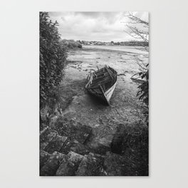 The old boat Canvas Print