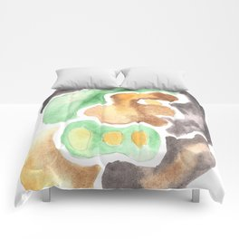 170623 Colour Shapes Watercolor 4    Abstract Shapes Drawing   Abstract Shapes Art Comforters