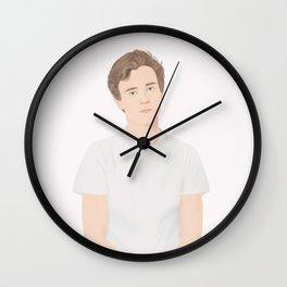 Skam cast   Tarjei Sandvik Moe Wall Clock