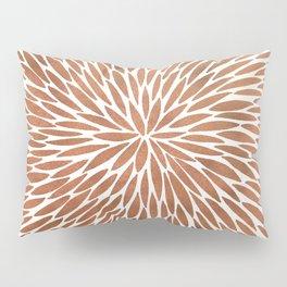 Rose Gold Burst Pillow Sham