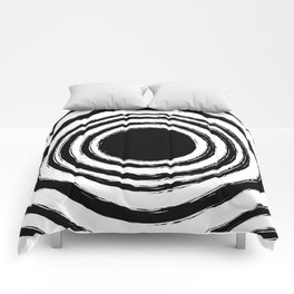 Painted Circles Comforters