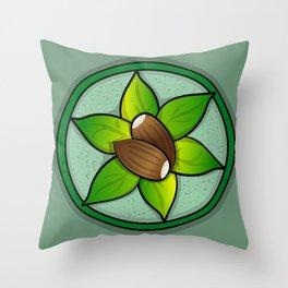 Acorn Centerpiece Throw Pillow