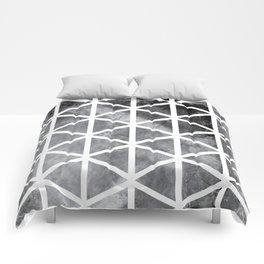 GEOMETRIC SERIES I Comforters