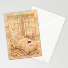 Bed in the Clouds Stationery Cards