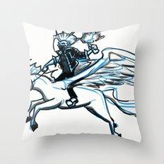 Aerial punk   Throw Pillow