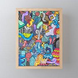 NATURAL DISASTER Framed Mini Art Print