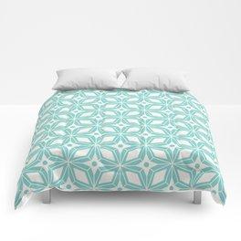 Starburst - Aqua Comforters