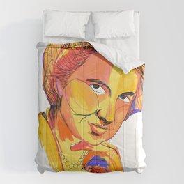 Rosalind Franklin by Aitana Pérez Comforters
