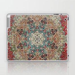 Antique Red Blue Black Persian Carpet Print Laptop & iPad Skin