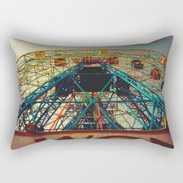 Going Through The Motions Rectangular Pillow