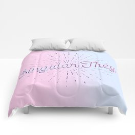 Singular They - High Pride Comforters